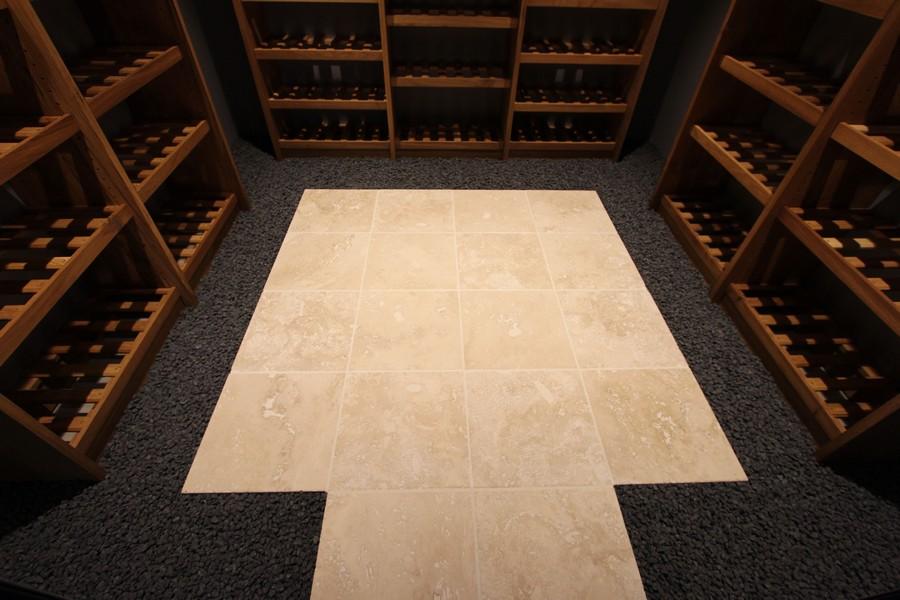 Cave à vin après sol